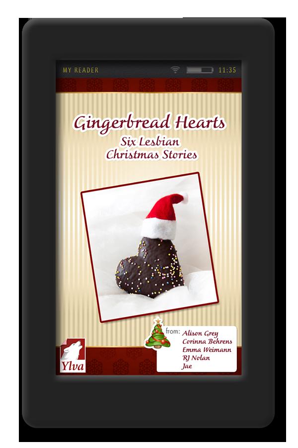 Short Christmas Stories.Gingerbread Hearts Six Lesbian Christmas Stories