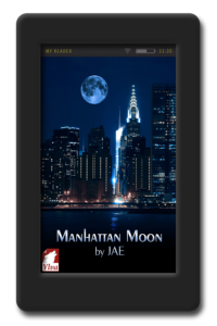 Cover of the lesbian paranormal romance Manhattan Moon by Jae