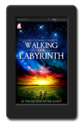 Cover of the slow-burn lesbian romance Walking the Labyrinth by Lois Cloarec Hart