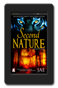 Cover of the lesbian paranormal romance Second Nature by Jae
