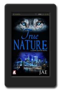 Cover of the lesbian paranormal romance True Nature by Jae