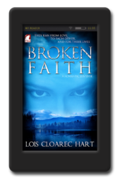 Cover of the lesbian romance Broken Faith by Lois Cloarec Hart