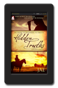 Cover of the lesbian historical romance Hidden Truths
