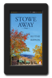 Cover of the lesbian romance Stowe Away by Blythe Rippon