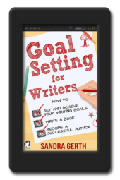 Cover of the writer's guide Goal Setting for Writers by Sandra Gerth