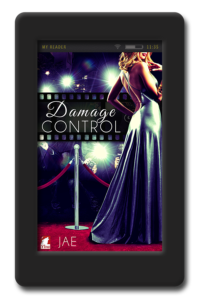 Cover of the lesbian slow-burn romance. Damage Control by Jae