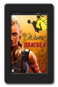 Cover of the young adult vampire romance Ex-Wives of Dracula by Georgette Kaplan
