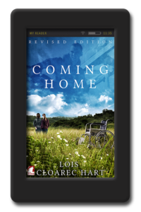 Cover of the lesbian age gap romance Coming Home by Lois Cloarec Hart
