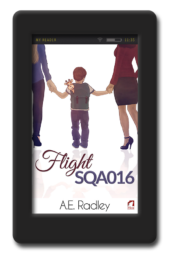 Flight SQA016 by A.E. Radley