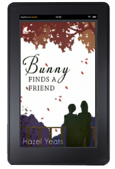 Cover to Ylva Publishing's Bunny Finds a Friend by Hazel Yeats