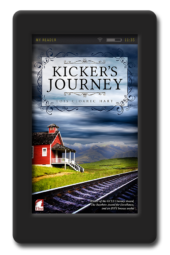 Cover of the historical lesbian romance Kicker's Journey by Lois Cloarec Hart