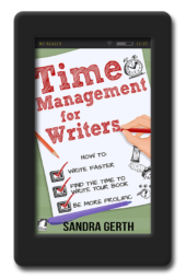 Cover of the writer's guide Time Management for Writers by Sandra Gerth