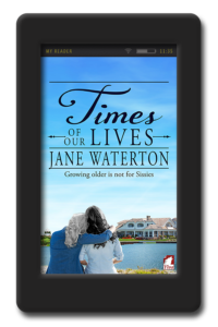 Cover of the lesbian romance Times of our Lives by Jane Waterton