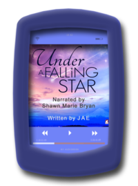 Audio book Under a Falling Star by Ylva author Jae