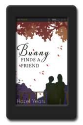 Cover of the lesbian romance Bunny finds a Friend by Hazel Yeats