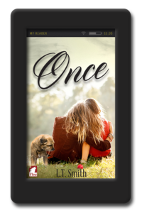 Cover of the lesbian romance Once by LT Smith