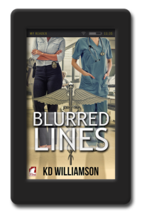 Cover of the lesbian romantic suspense by KD Williamson