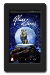 Glass Lions by JD Glass, Punk Series