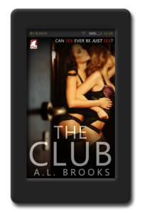 Cover of the lesbian erotica The Club by A.L. Brooks