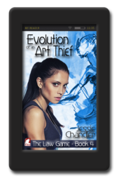 The Law Game Evolution of An Art Thief by Jessie Chandler