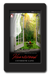 Cover of the lesbian romance Heartwood by Catherine Lane