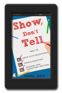 Show, Don't Tell by Sandra Gerth