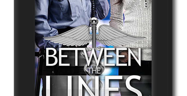 Cover of the lesbian romance Between the Lines by KD Williamson