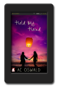 Cover of the lesbian romance Hold my Hand by AC Oswald