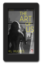 Cover of the second chance romance The Art of Us by KL Hughes