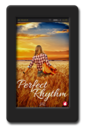 Cover of the lesbian slow-burn romance Perfect Rhythm by Jae