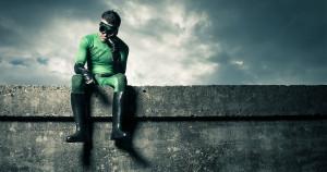 _social media picture superhero