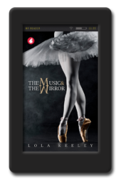 Cover of the lesbian romance The Music and the Mirror by Lola Keeley