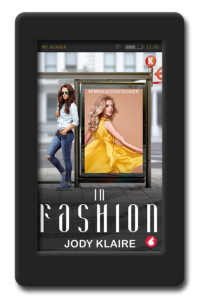 Cover of the lesbian romance In Fashion by Jody Klaire