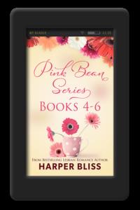 Pink Bean Series 4-6 by Harper Bliss