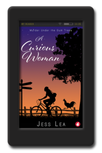 Cover of the cozy mystery A Curious Woman by Jess Lea