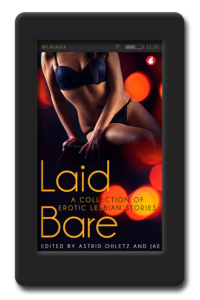 Cover of the collection of erotic short stories Laid Bare