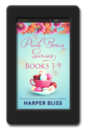 Pink Bean Series 1-9 by Harper Bliss