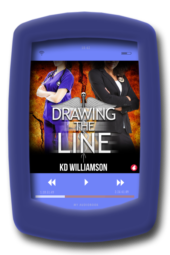 Drawing the Line (audiobook) by KD Williamson