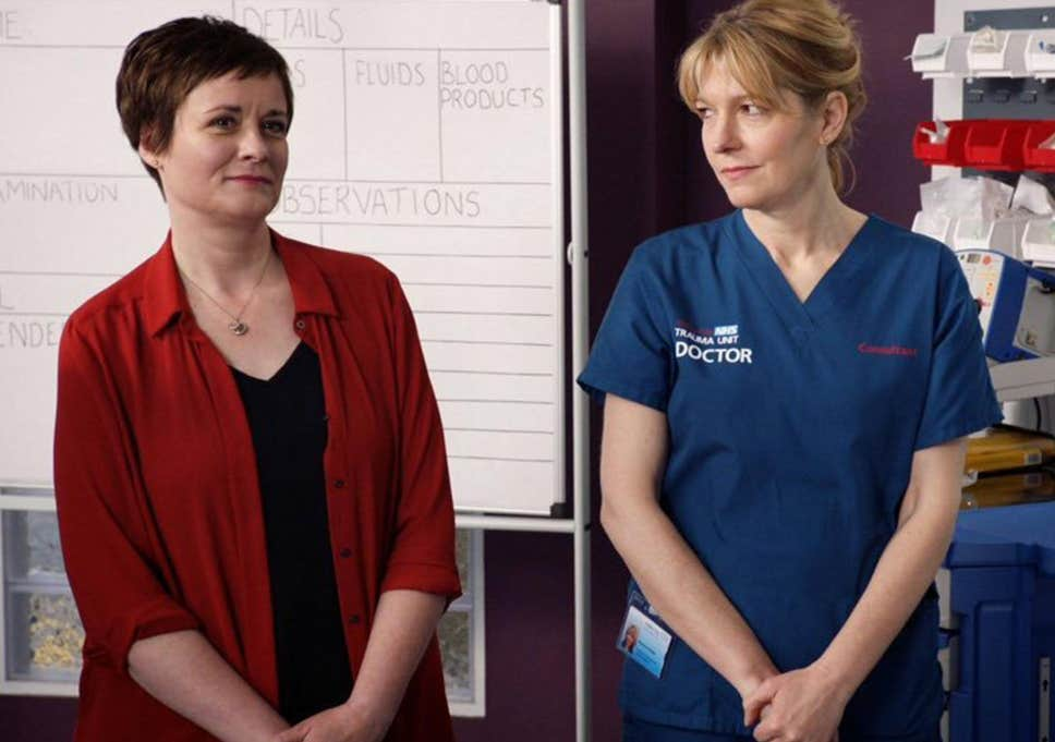Bernie and Serena from Holby City