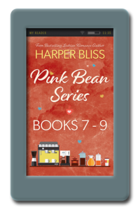 Pink Bean Series 7-9 by Harper Bliss