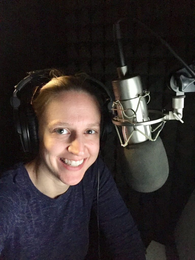 Angela Dawe, narrator
