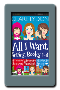 All I Want Series: Books 1-3 by Clare Lydon