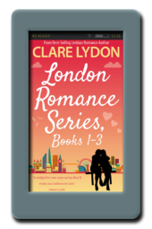 London Romance Series: Books 1-3 by Clare Lydon