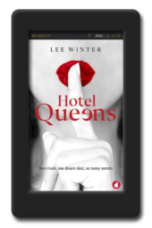 Opposites-attract lesbian romance Hotel Queens by Lee Winter
