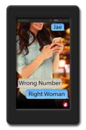 slow-burn lesbian romance Wrong Number, Right Woman by Jae