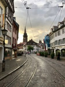 Picture of Freiburg, the setting for lesbian romance Paper Love by Jae