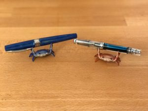 Picture of crabs with pens